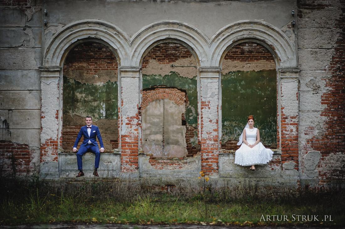 Gosia i Szymon | ślub Sadlno, plener Sompolno