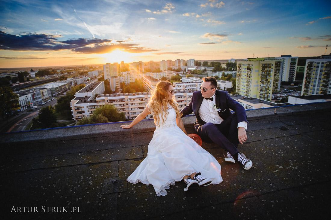 Marlena i Rafał | ślub Posada, plener Konin