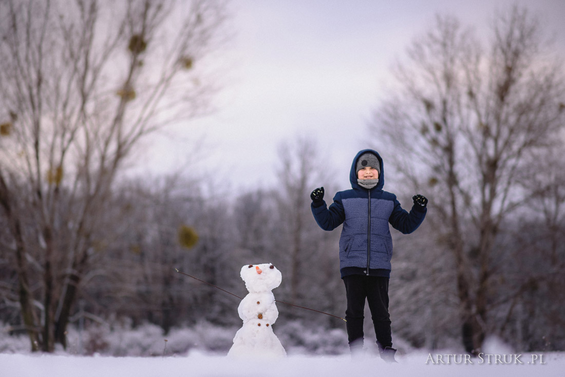 Zima w Koninie