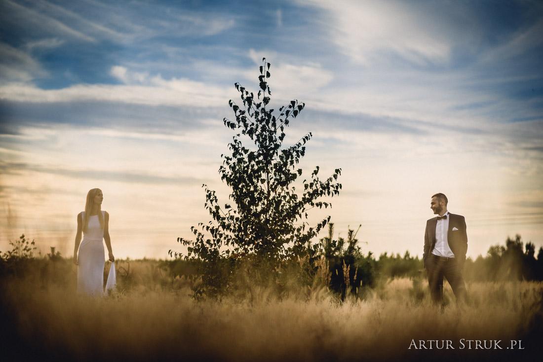 Karolina i Adam | ślub Powidz, Kleczew, plener Ślesin