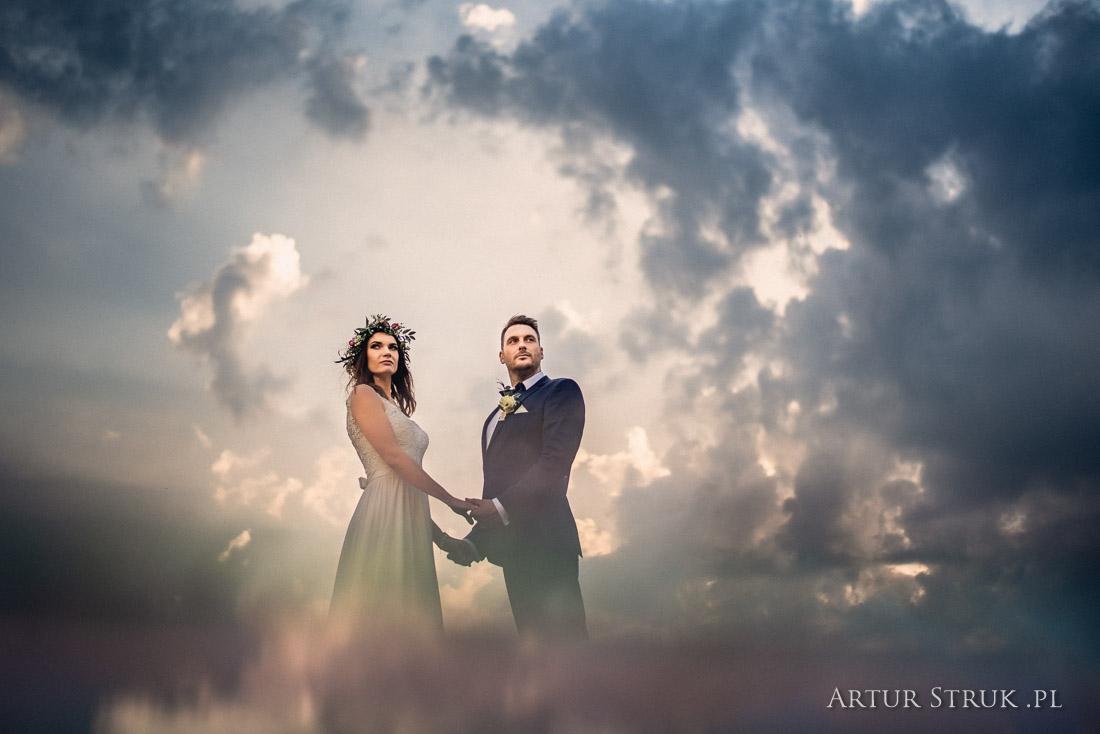 Karolina i Patryk | ślub Powidz, Małachowo Złych Miejsc