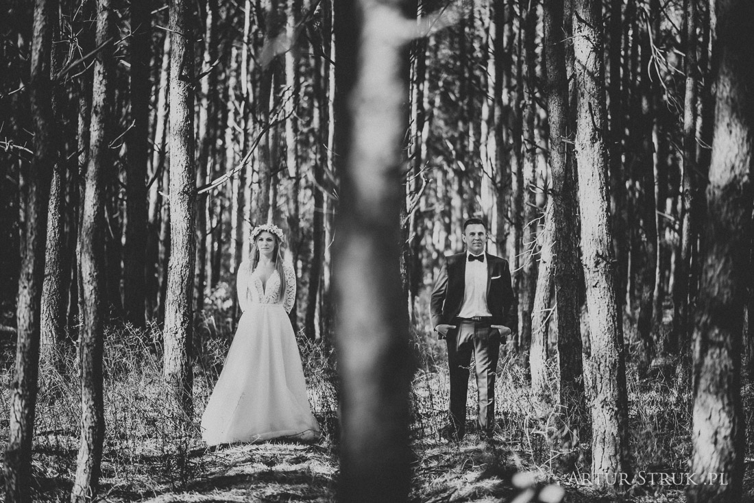 Patrycja i Szymon | ślub Ślesin, przyjęcie Bernardynka