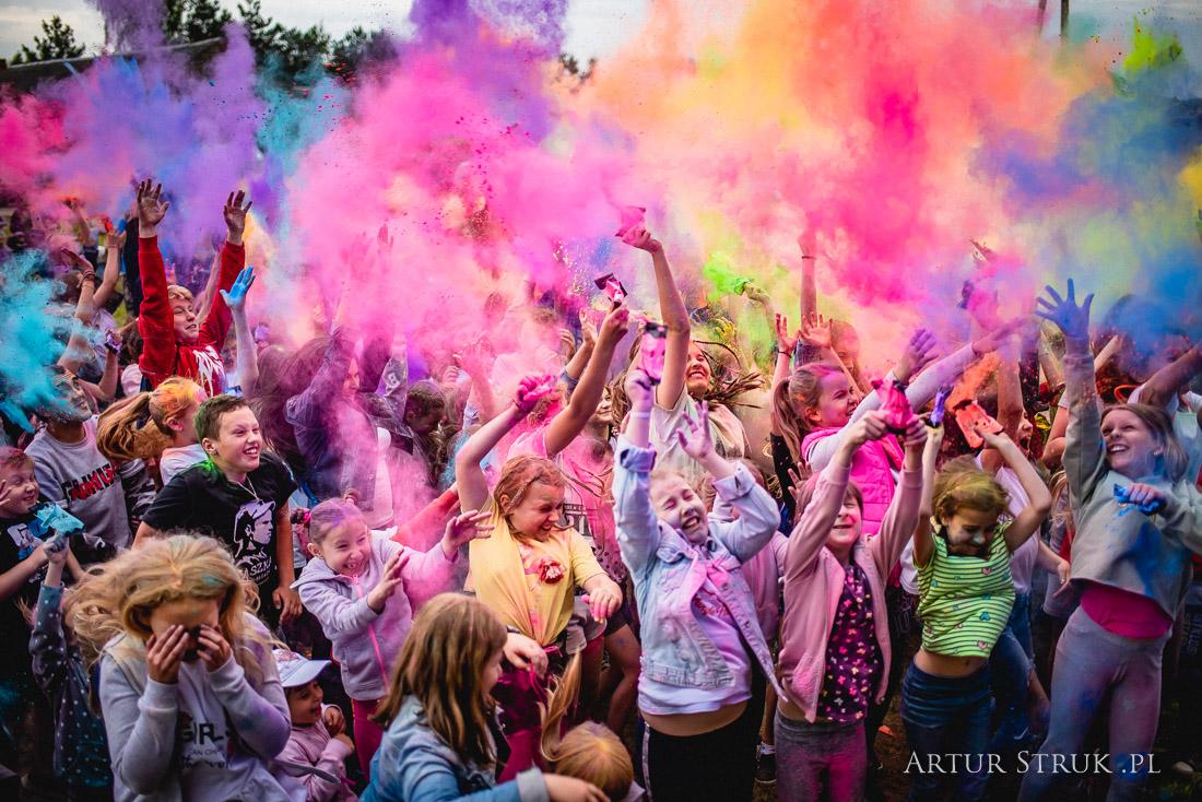 Festiwal kolorów Żychlin 2019