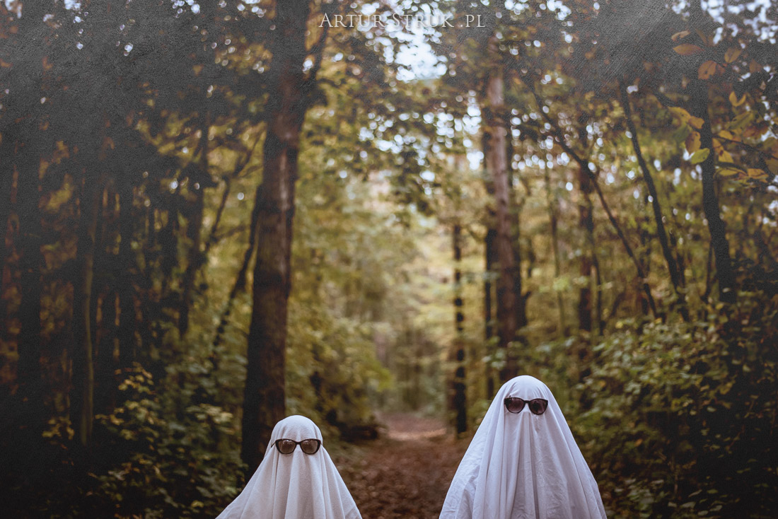 Halloween 2020 - straszny las