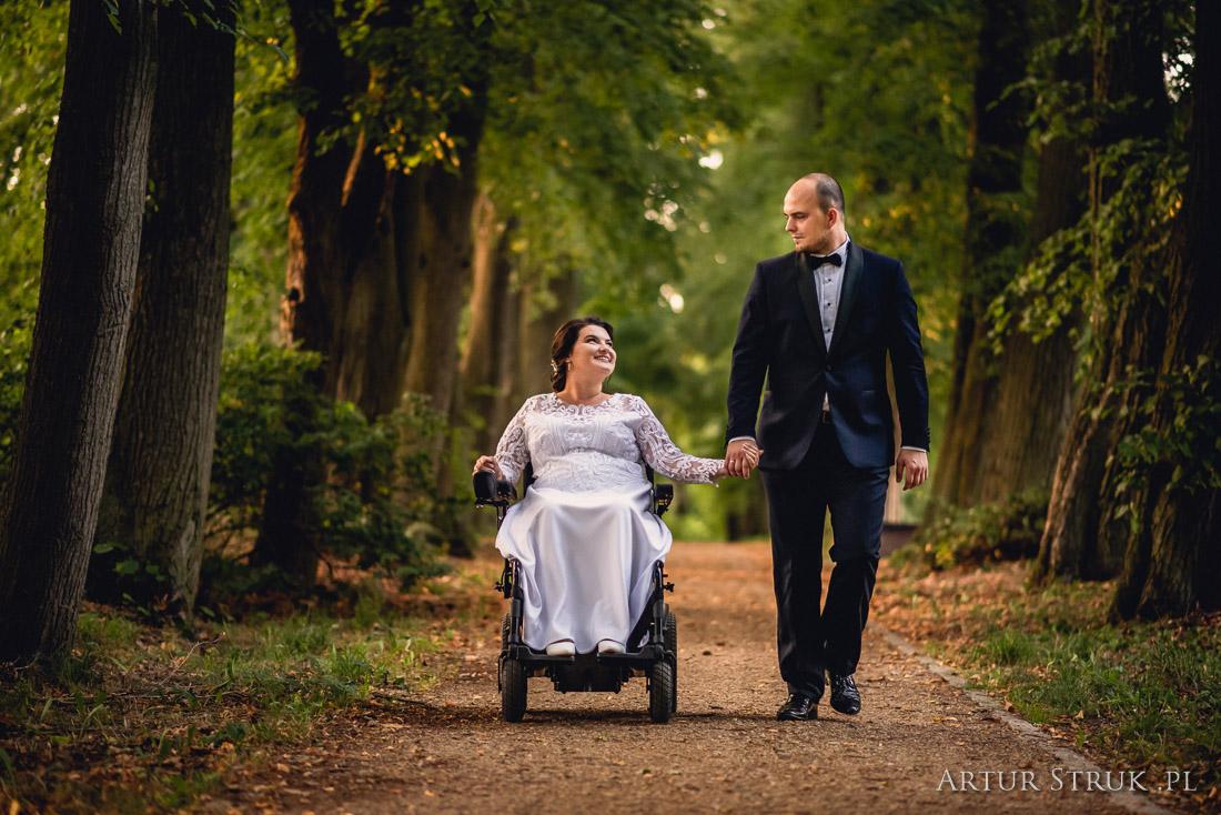 Natalia i Mateusz | Modlibogowice, wesele Motel Anna, plener Gołuchów